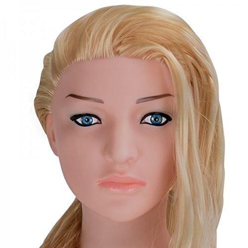 Blonde realistische Liebespuppe Aufblasbare Sexpuppe
