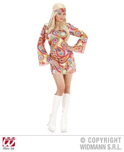 KOSTÜM - HIPPIE GIRL -, Größe 46/48 (Hippie Kostüm Girl 60er)