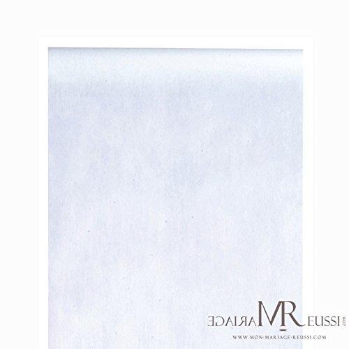 Deko-Vlies Edle Tafel 0,3 x 10 m weiß ()