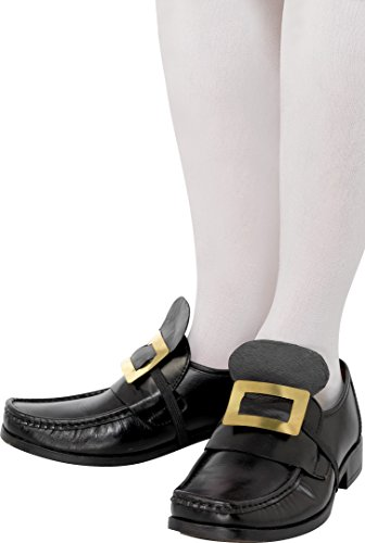 Smiffys Tales of Old England Kollektion Metall-Schuhschnalle Gold -