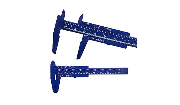 Stiftform Kunststoff Messschieber Lineal Messwerkzeug Multifunktionen mode 3PC