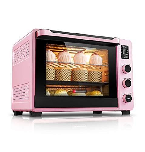QPSGB Konvektions-Toasterofen Ofen aus gebürstetem Edelstahl - backofen 268 (Edelstahl Konvektion Mikrowelle)
