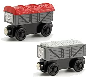 Wooden Thomas and Friends: Electronic Giggling Troublesome Trucks