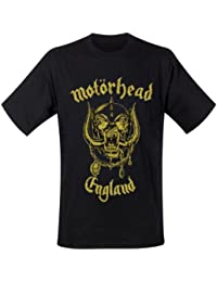 Motörhead - T-Shirt England Classic Gold (in XL)
