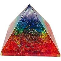Crocon 7Chakra Onyx-orgone Pyramiden-Generator mit Edelstein-Chakra Balancing Reiki Heilung Größe-3–3,5-Zoll preisvergleich bei billige-tabletten.eu