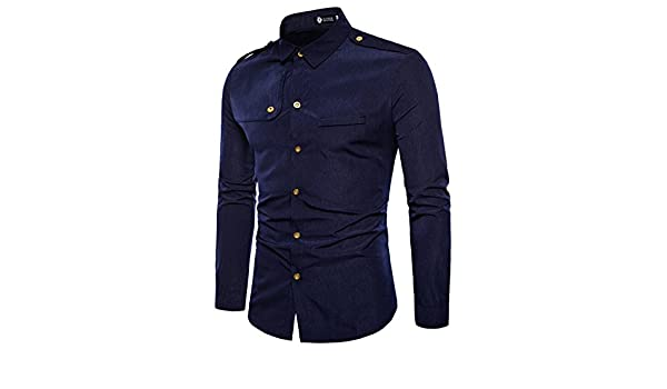 Athanie 2018 Fashion Shirt Fit Slim Men Shirts Longsleeve Business