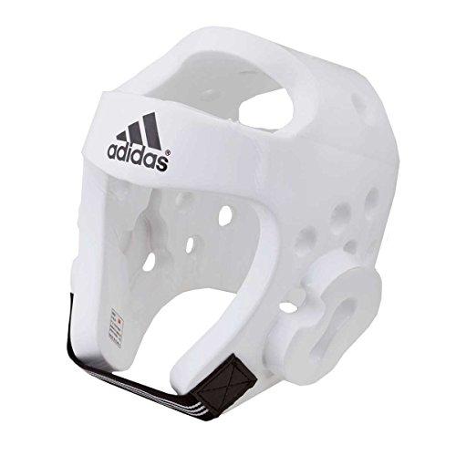 Adidas Casco Taekwondo Blanco White, XS