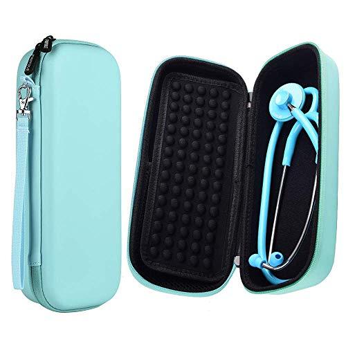 Stethoskop Tasche - Hartschalentasche für St John Ambulance / 3M / MDF/Akord Dual oder Single Head Littmann Stethoskop - inkl. Netztasche für Zubehör