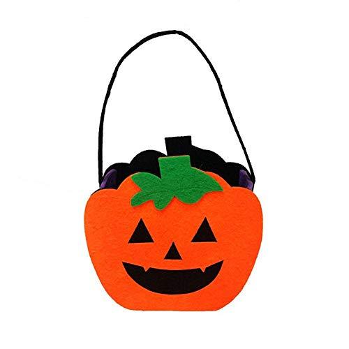 Halloween Einkaufstaschen Festlichkeits Einkaufstaschen Halloween Vliestasche Ghost Pumpkin Taro Filz Tuch Ornament Requisiten Geschenktüte