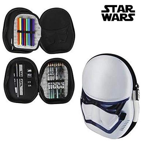 Cerdá 3d Star Wars Estuches, 23 cm, Azul