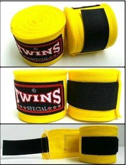 Twins Special Muay Thai Boxing Boxbandagen, gelb ()