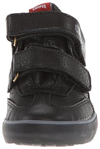 Camper Pelotas Persil Vulcanizado, Sneakers Hautes garçon Noir (Negro)