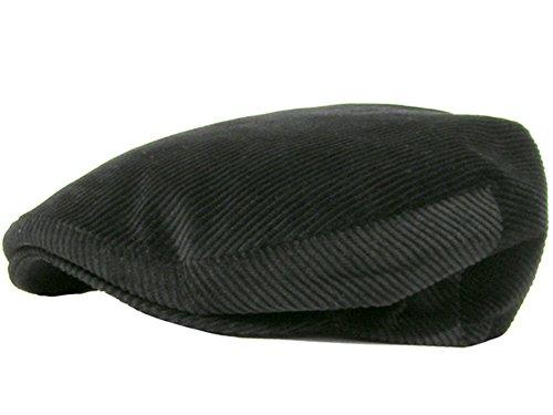 Tedd Haze Taxi Driver Hat Cord Black 60 - Taxi Cap Driver