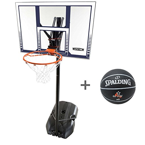 Lifetime Basketball-Anlage Boston mit Spalding Ball All Star