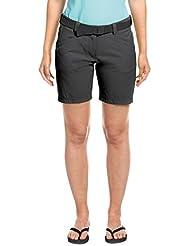 MAIER SPORTS Damen Shorts Lulaka aus 90% PA 10% EL in 10 Größen und vielen Farben, Outdoorhose/ Funktionshose/ Bermuda inkl. Gürtel, bi-elastisch, schnelltrocknend und wasserabweisend