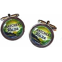 Thatchers Haze Cider Chrome Cufflinks