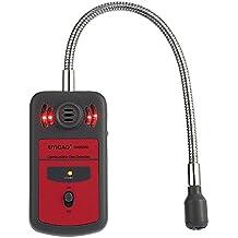 UYIGAO Mini Detector de Gas Combustible de Mano Portátil Medidor de Ubicación de Fugas Tester Sonido y Luz ALarma Automotriz