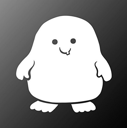 Doctor Who Adipose Decal Sticker Car Home Laptop Dye-cut | 5 In | Keen156 (Doctor Who Dalek Kostüme Für Kinder)