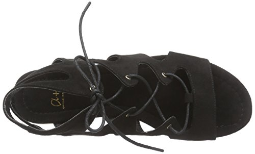 Another Pair of Shoes Sophia K, Spartiates femme Noir (black01)