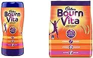 Bournvita Cadbury Health Drink, 1kg Jar Bournvita Health Drink, 500 g