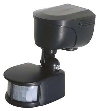 Otio - 921211 pir-01 - Interrupteur automatique extérieur noir