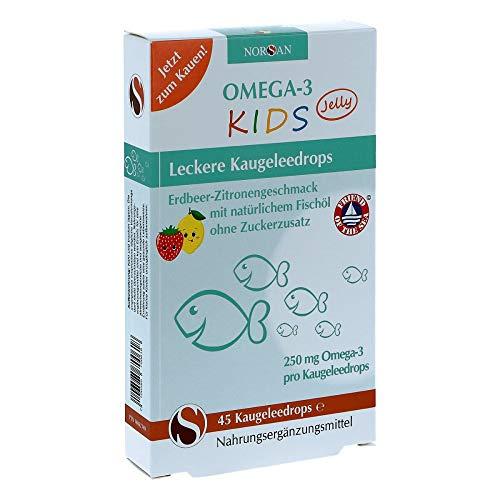 Norsan Omega-3 Kids Jelly 45 stk