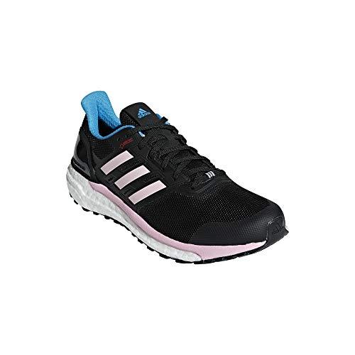 adidas Damen Supernova Gore-Tex Laufschuhe, Schwarz Core Black/Shock Cyan/True Pink, 40 EU