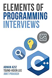 Elements of Programming Interviews: The Insiders' Guide (1479274836) | Amazon Products