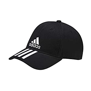 adidas - 6 Panel 3 Stripes Cotton Twill, Headwear Unisex - Adulto 1 spesavip