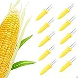 Maiskolben-Halter - Edelstahl Maiskolben Spieße Maiskolben-Halter für BBQ-Grill Essen Zinken Spieße und Hausmannskost (20 Packungen)