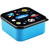 Smily Kiddos 4 In 1 Squad Container | Kids Lunch Box | Tiffin Box For Children/Girls/Boys | Storage Box (Blue)
