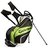 TaylorMade 2016 Pro Stand 4.0 Stand Bag Mens Carry Golf Bag 5-Way Divider Black/Gray/Green