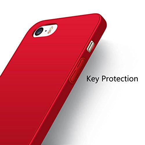 custodia iphone 5s rossa