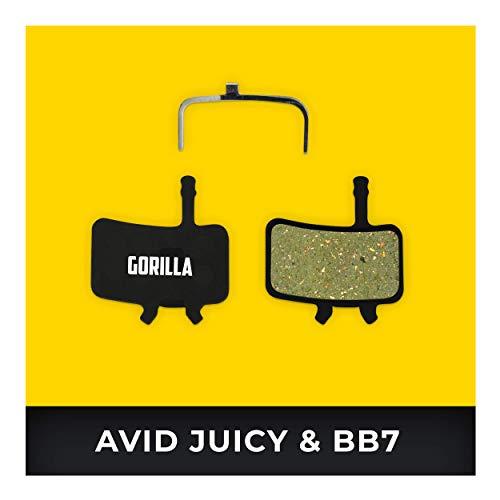 Avid Juicy Bremsbeläge 3 5 7 Carbon Ultimate & Avid BB7 für Fahrrad Scheibenbremse I Hohe Bremsleistung I Langlebiger & Passgenauer Bremsbelag I Organischer Belag