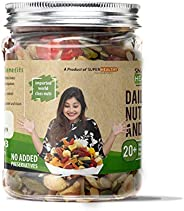 Super Healthy Mixed Nuts, Seeds and Berries - Organic Trail Mix | Assorted Dry Fruit Nut Mix with Seeds, Berri