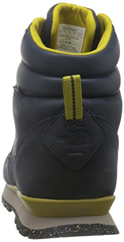 The North Face M Back-To-Berkeley Redux Leather, Chaussures de Marche Homme Multicolore (Blu/Urbnvy/Antqmsgn)