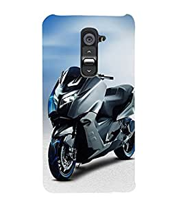 PrintVisa Dream Style Bike 3D Hard Polycarbonate Designer Back Case Cover for LG G2 :: LG G2 D800 D802 D801 D802TA D803 VS980 LS980
