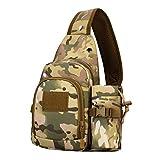 appeso Kai bollitore con contenitore a borsa per un facile trasporto circa 6colori camouflage multifunzione bicicletta DIAGONAL Cross borsa a tracolla messenger bag, CP Camouflage, 24 * 32 * 9cm