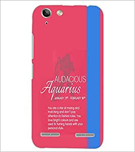 PrintDhaba Sunsign Aquarius D-1222 Back Case Cover for LENOVO VIBE K5 (Multi-Coloured)