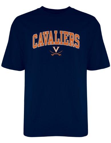 Old Varsity NCAA Offizielles Gildan T-Shirt, Herren, Navy, Large -