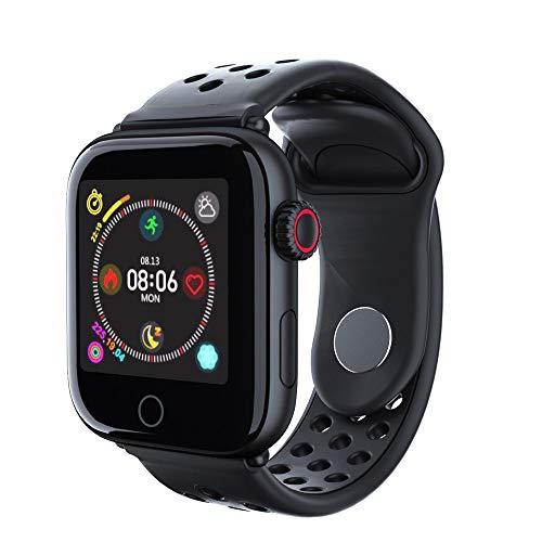 JKFGDYIMNFS Orologio intelligenteSmart Watch Men Waterproof IP68 Smartwatch con cardiofrequenzimetro da polso dapolsoFitnessSmart Watches, oro rosa bianco