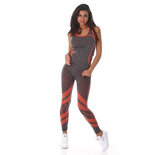 damen zweiteiler sporttop tr ger top und sport leggings im. Black Bedroom Furniture Sets. Home Design Ideas