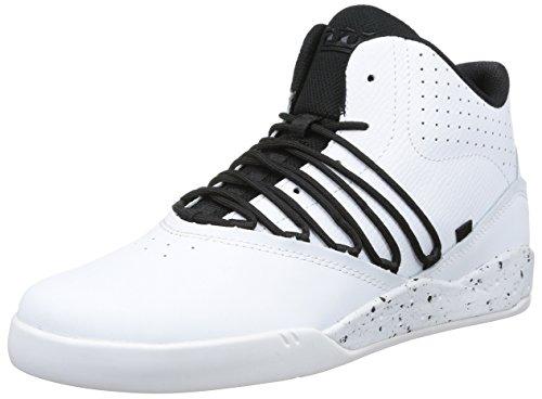 Supra Estaban, Baskets mode homme Blanc (White/Black/White)