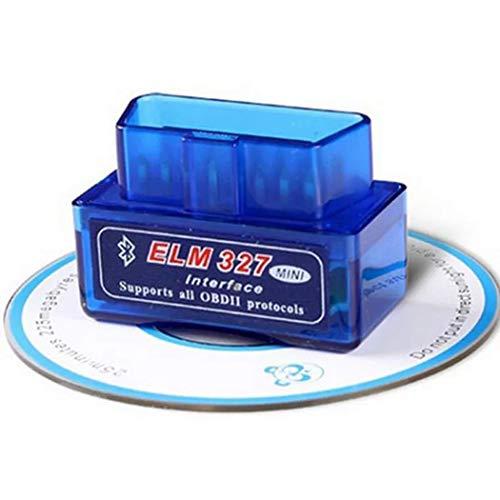 CARZJ Auto Diagnose Mini OBDII Bluetooth V1.5 PIC18F25K80 Chip ELM327 Geeignet für die meisten Autos