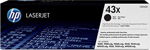 HP 43X (C8543X) Schwarz Original Toner mit hoher Reichweite für HP Laserjet 4200, 4250, 4350 (Hp Laserjet 4200 Toner)