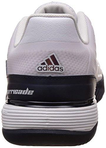 adidas Barricade 2016 Xj, Scarpe da Tennis Bambino Blanco (Ftwbla / Maruni / Kugofo)