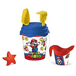 Mondo 28613-Set de Playa Super Mario Bucket Set 28613