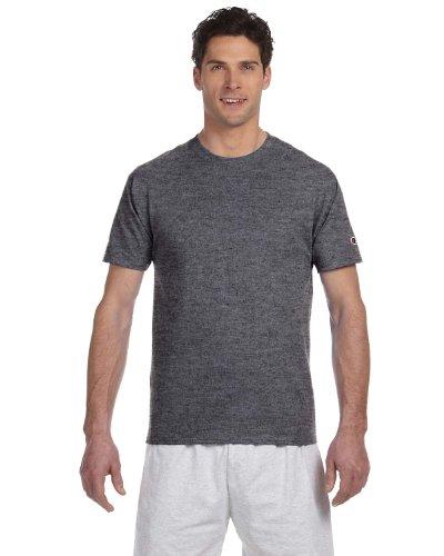 Champion 6.1 OZ. Short-Sleeve T-Shirt Charcoal Heather