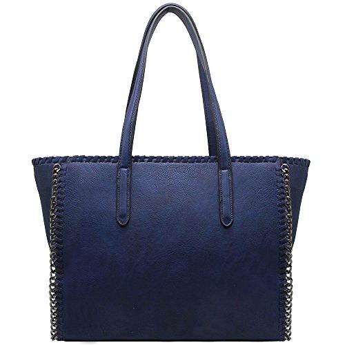 CRAZYCHIC , Damen Tote-Tasche Blau (Hobo Für Kostüme Jungen)