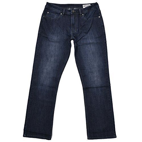 Buffalo David Bitton Herren Driven-x Basic gerade Stretch Jean - blau - 38W / 34L Buffalo Denim